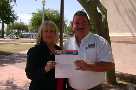 AZCOPS For Barbara McGuire in AZ Senate Race