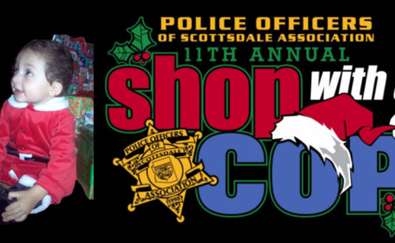 POSA's 11th Annual Shop with a Cop for youth