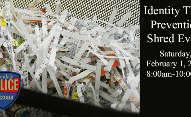 Free Identity Theft Prevention Shred Event
