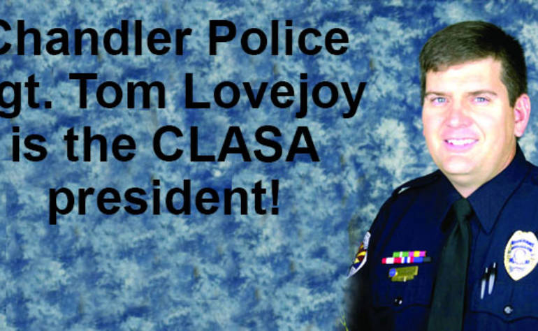 Chandler Sgt. Tom Lovejoy named CLASA president