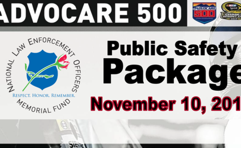 Public Safety Package for the Advocare 500