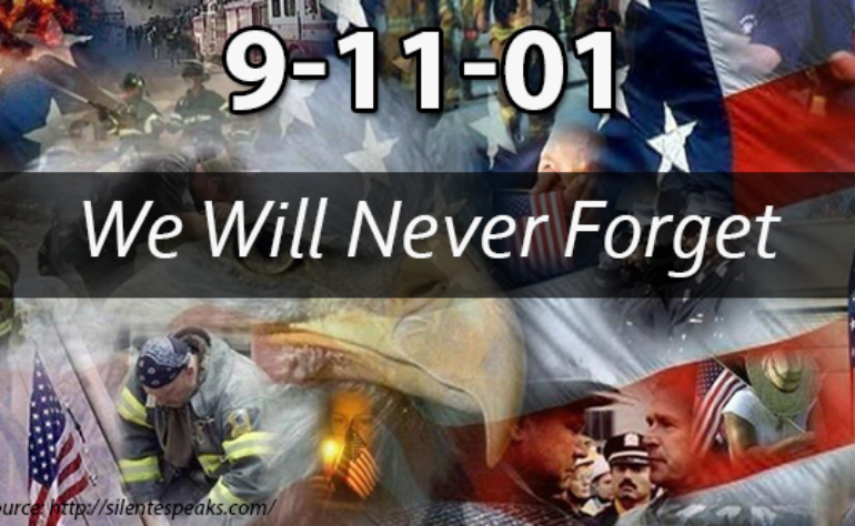 AZCOPS Gives a Moment of Silence in Remembrance of 9-11