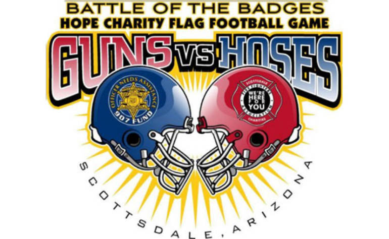 4th Annual POSA OUTREACH Guns vs Hoses Hope Football Game to Benefit the POSA 907 Fund and Scottsdale Firefighters Charities