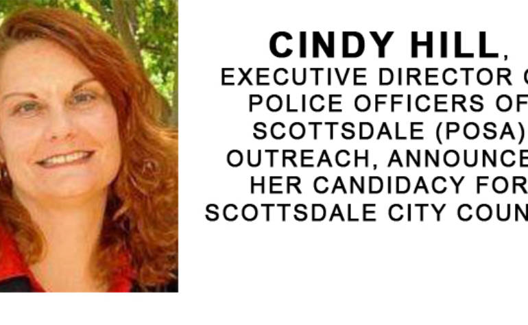Announcing Cindy Hill's Scottsdale City Council Candidacy