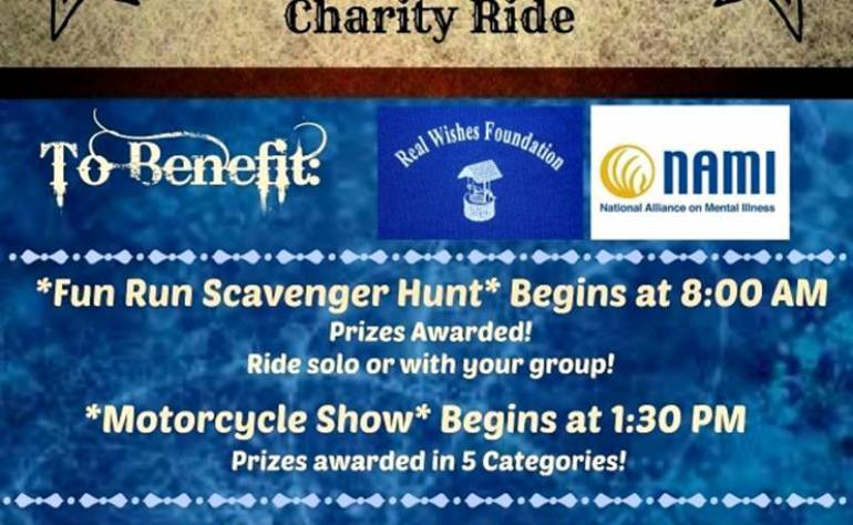 2nd Annual Cochise County Sheriff's Charity Ride