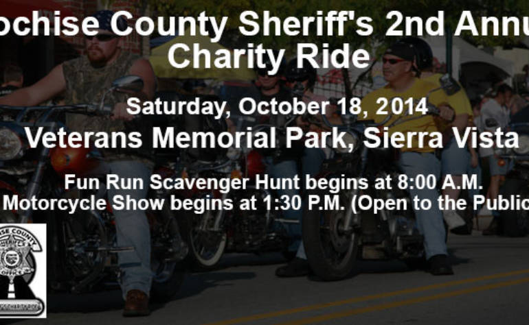 Cochise County Sheriff's 2nd Annual Charity Ride